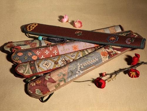 扇子配饰—扇袋的讲究