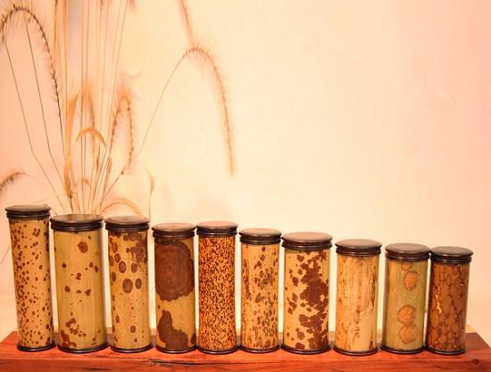 品味生活:竹子茶叶筒