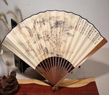 天津博物馆定制折扇