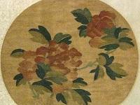 元代缂丝团扇牡丹图案鉴赏