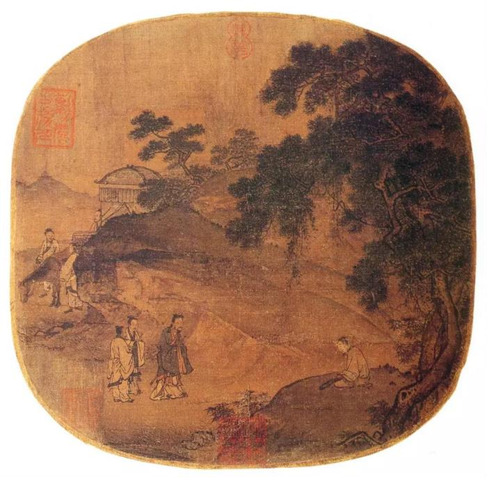 那些流失在外的中华文物—扇面小品