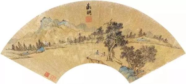 吴门之笔,儒雅之扇