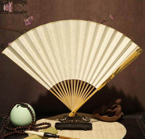 镶嵌竹子竹扇