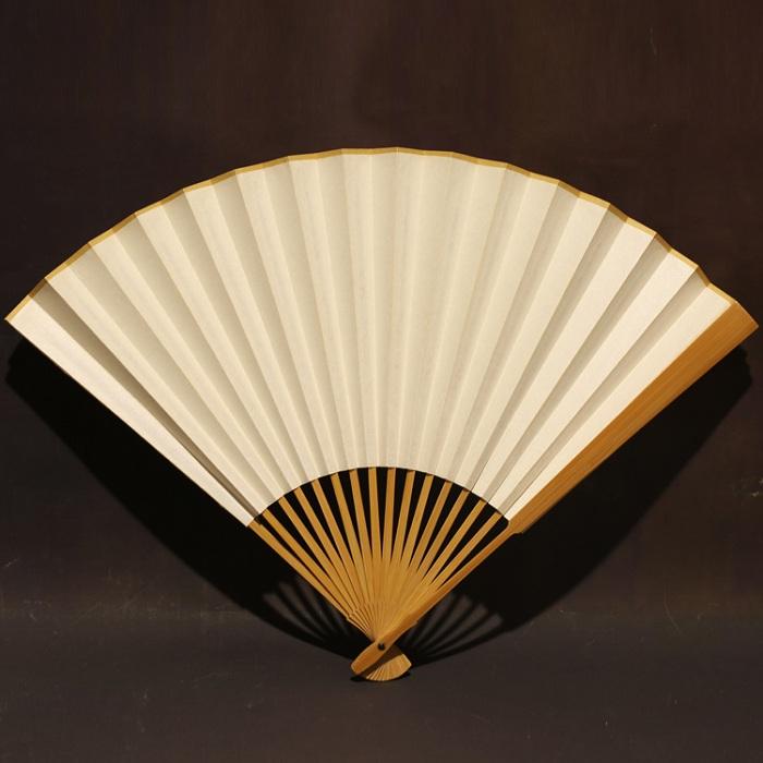 古方头型玉竹折扇