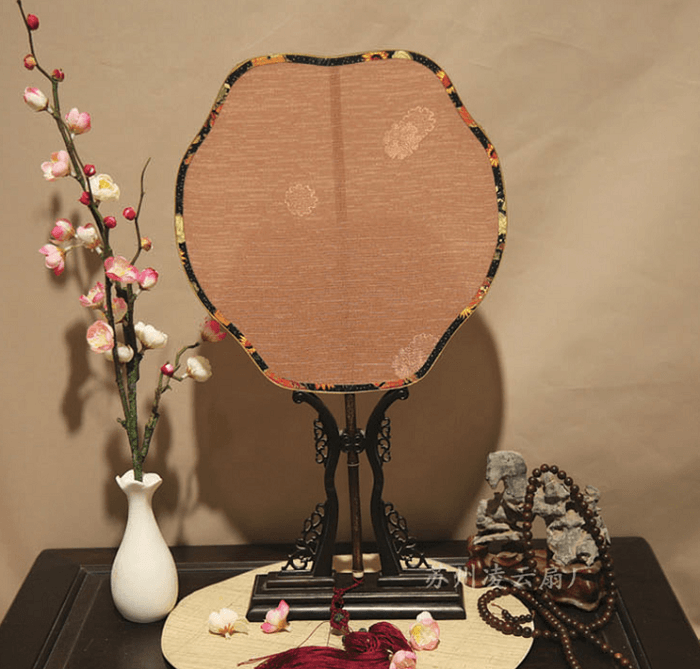 紫竹炳罗布团扇