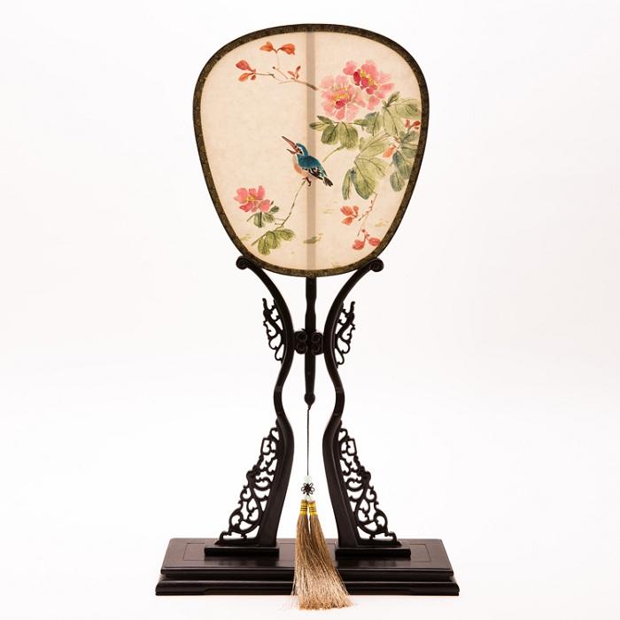 手工绘画团扇(中国风)