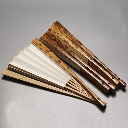 9.5寸梅鹿竹折扇