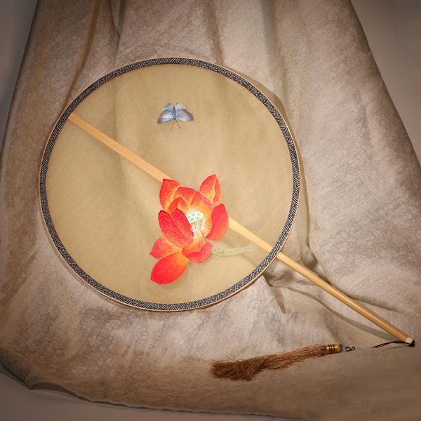 正宗苏州刺绣团扇(多款)