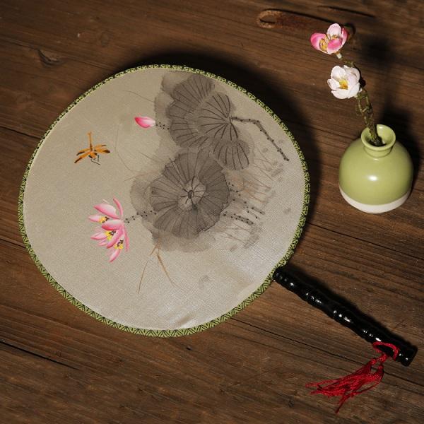 工笔手绘团扇(多款)