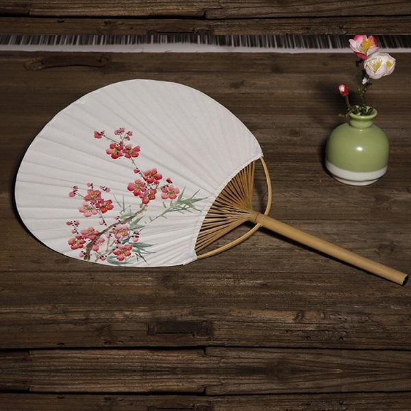 日式手绘竹子小团扇(多款)