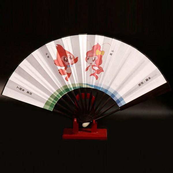 盱眙龙虾节定制折扇